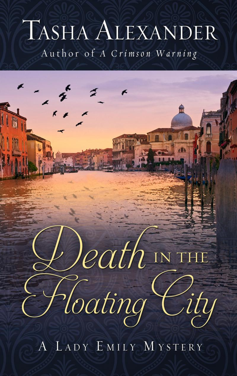Death in the Floating City, Large Print Edition