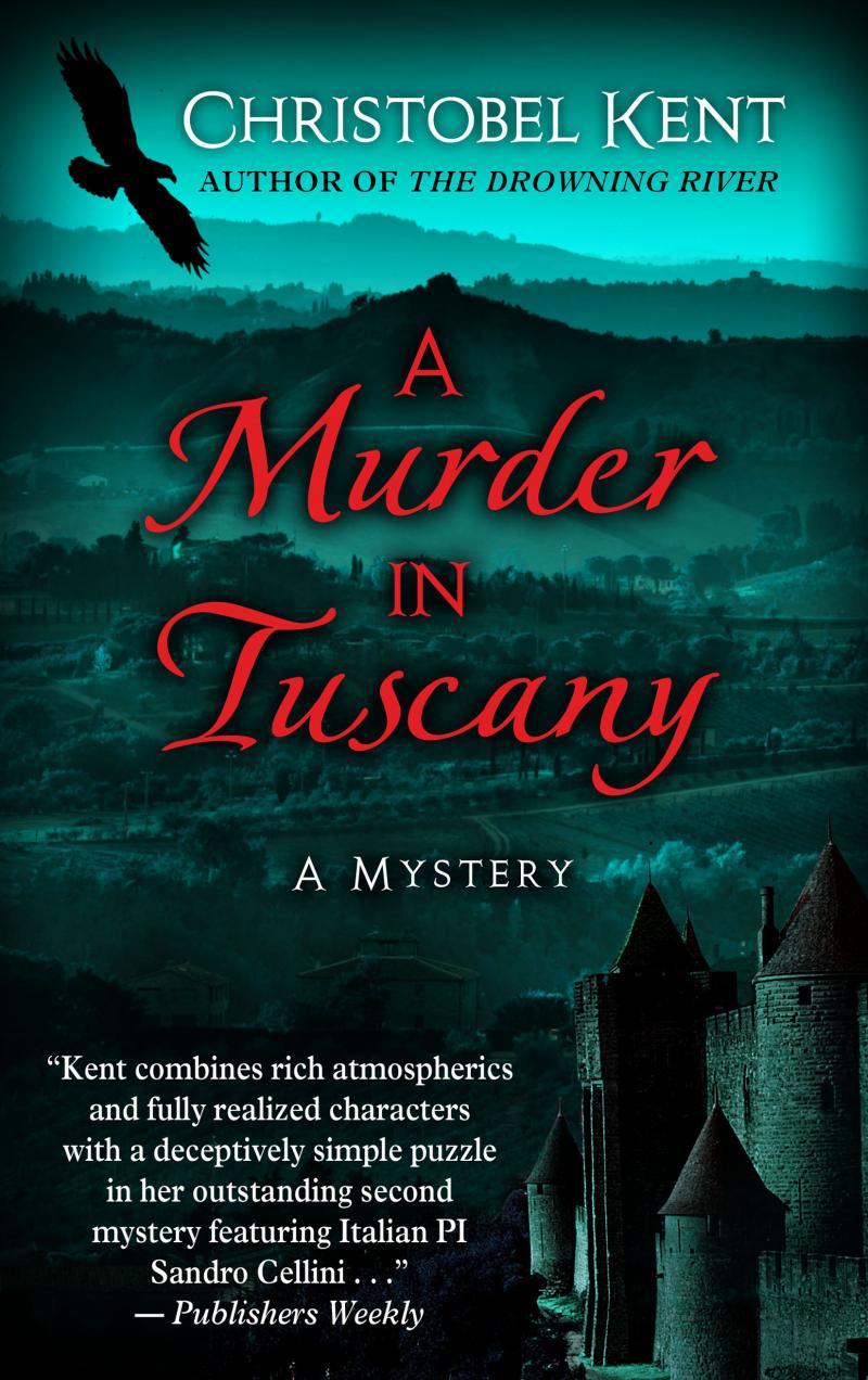 Murder in Tuscany, Large Print Edition